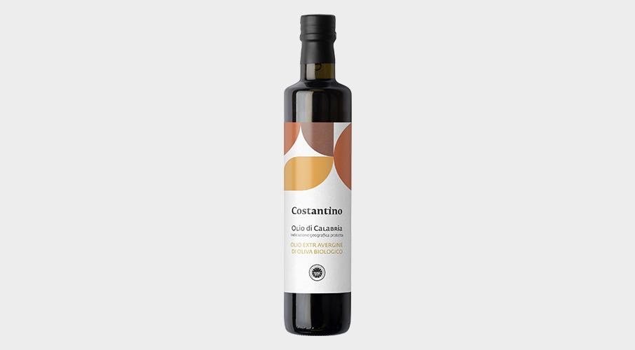 Costantino - Olio Extra Vergine d'Oliva Biologico IGP Calabria - bottiglia 50cl