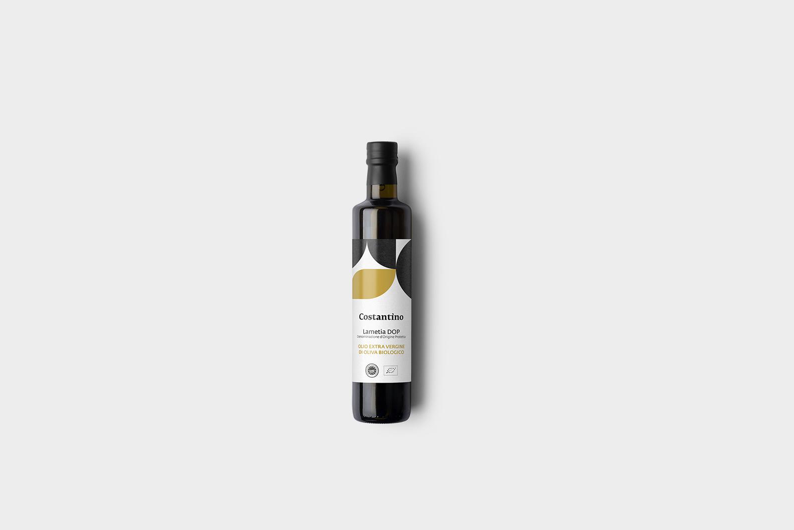 Costantino - Olio Extra Vergine d'Oliva Biologico Dop Lamezia - bottiglia 10cl