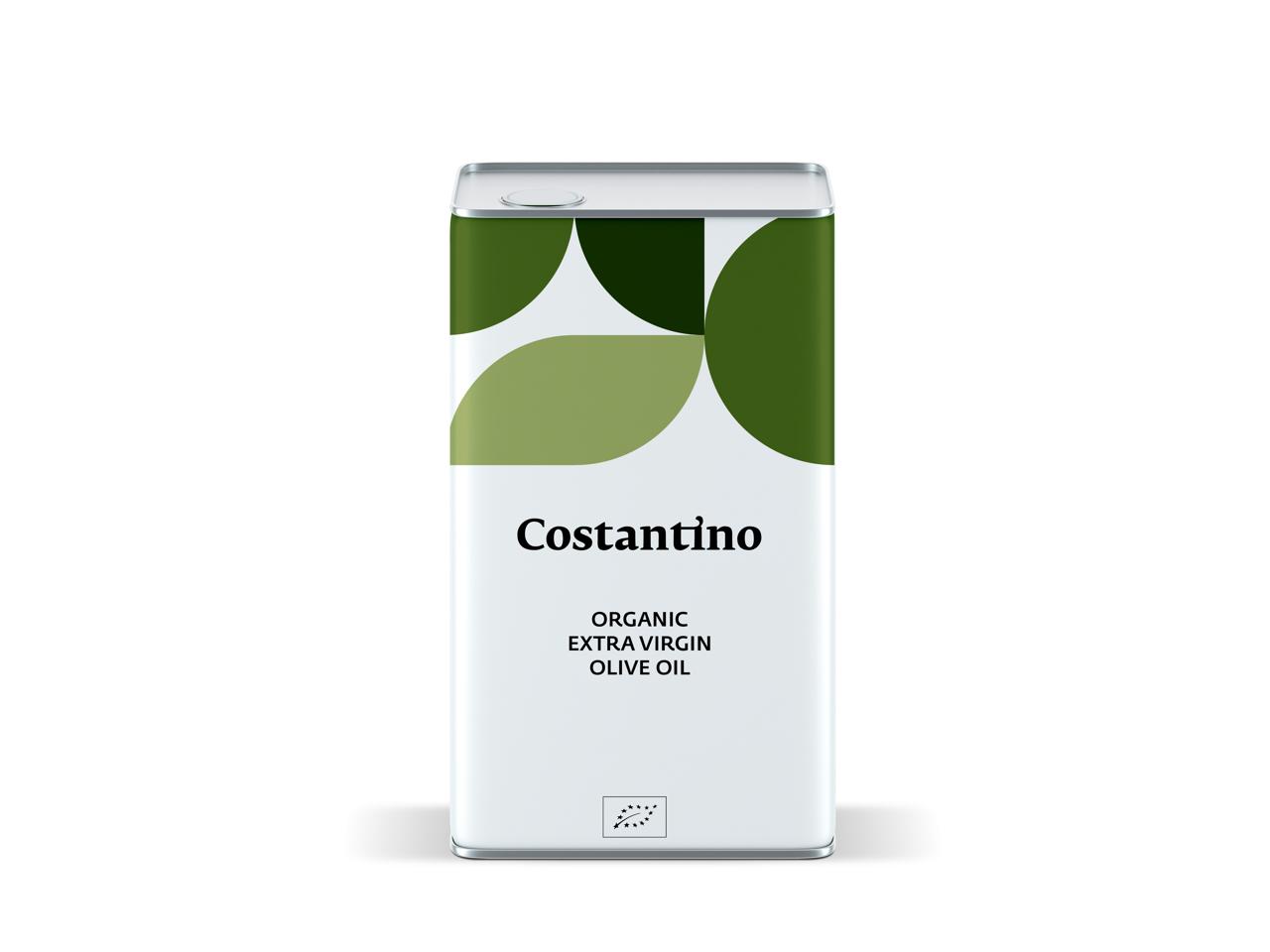 Costantino - Olio Extra Vergine d'Oliva Biologico - latta da 5l