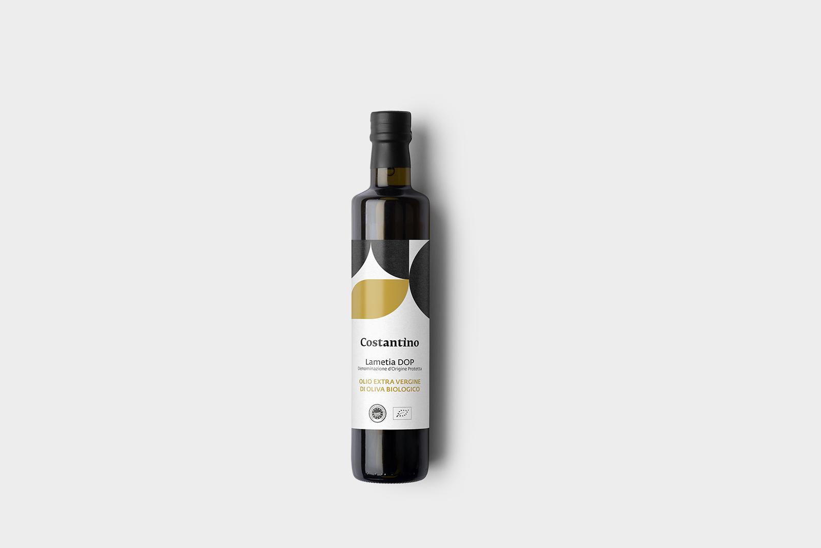 Costantino - Olio Extra Vergine d'Oliva Biologico Dop Lamezia - bottiglia 25cl