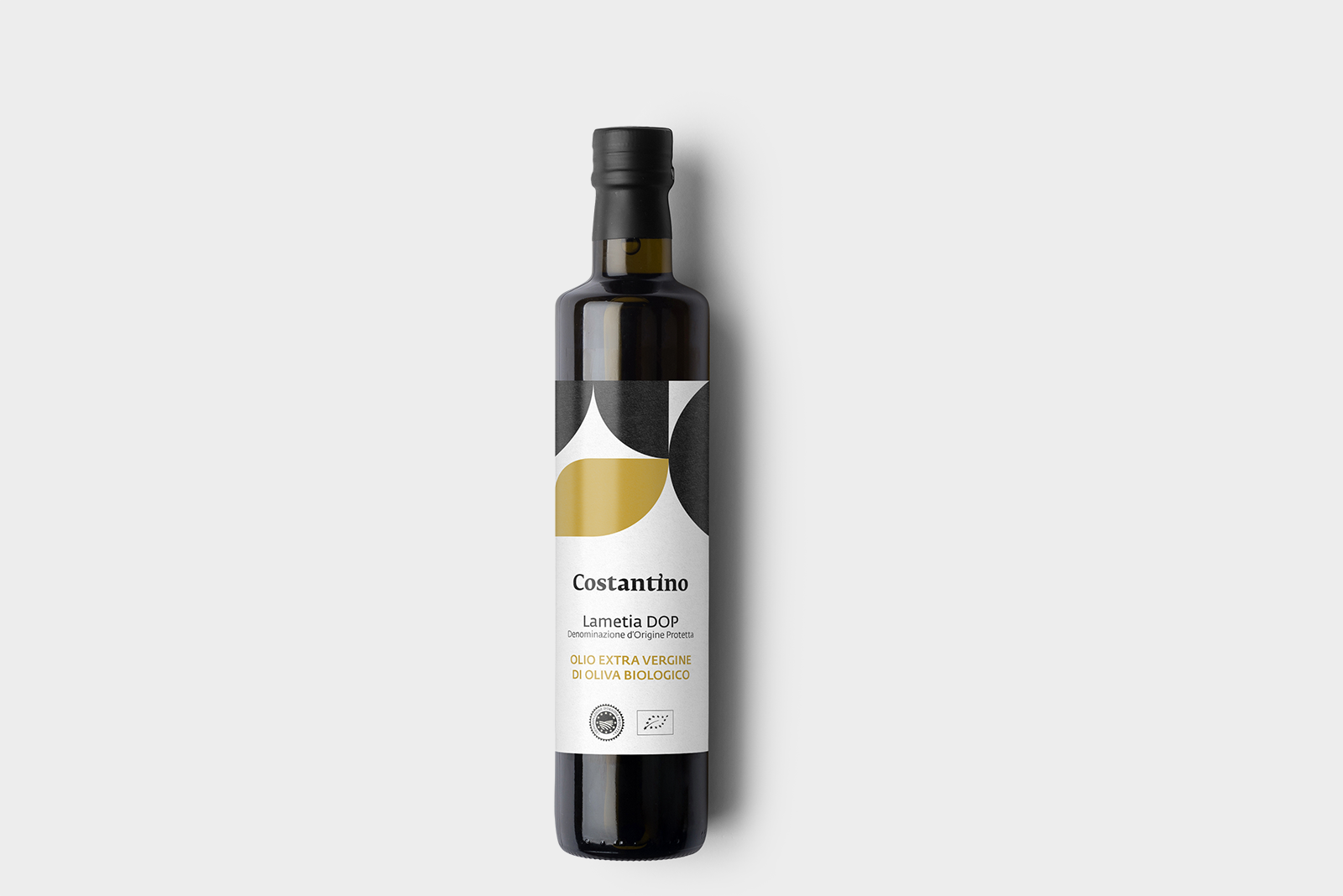 Costantino - Olio Extra Vergine d'Oliva Biologico Dop Lamezia - bottiglia 75cl