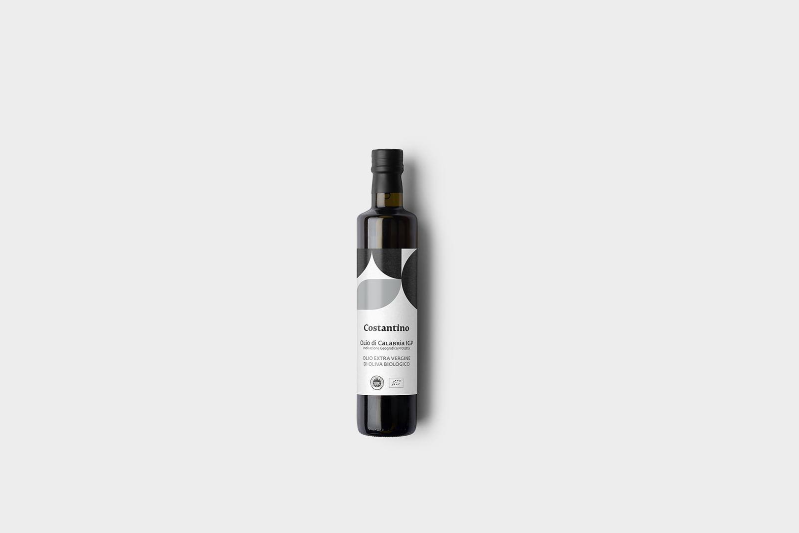 Costantino - Olio Extra Vergine d'Oliva Biologico IGP Calabria - bottiglia 10cl