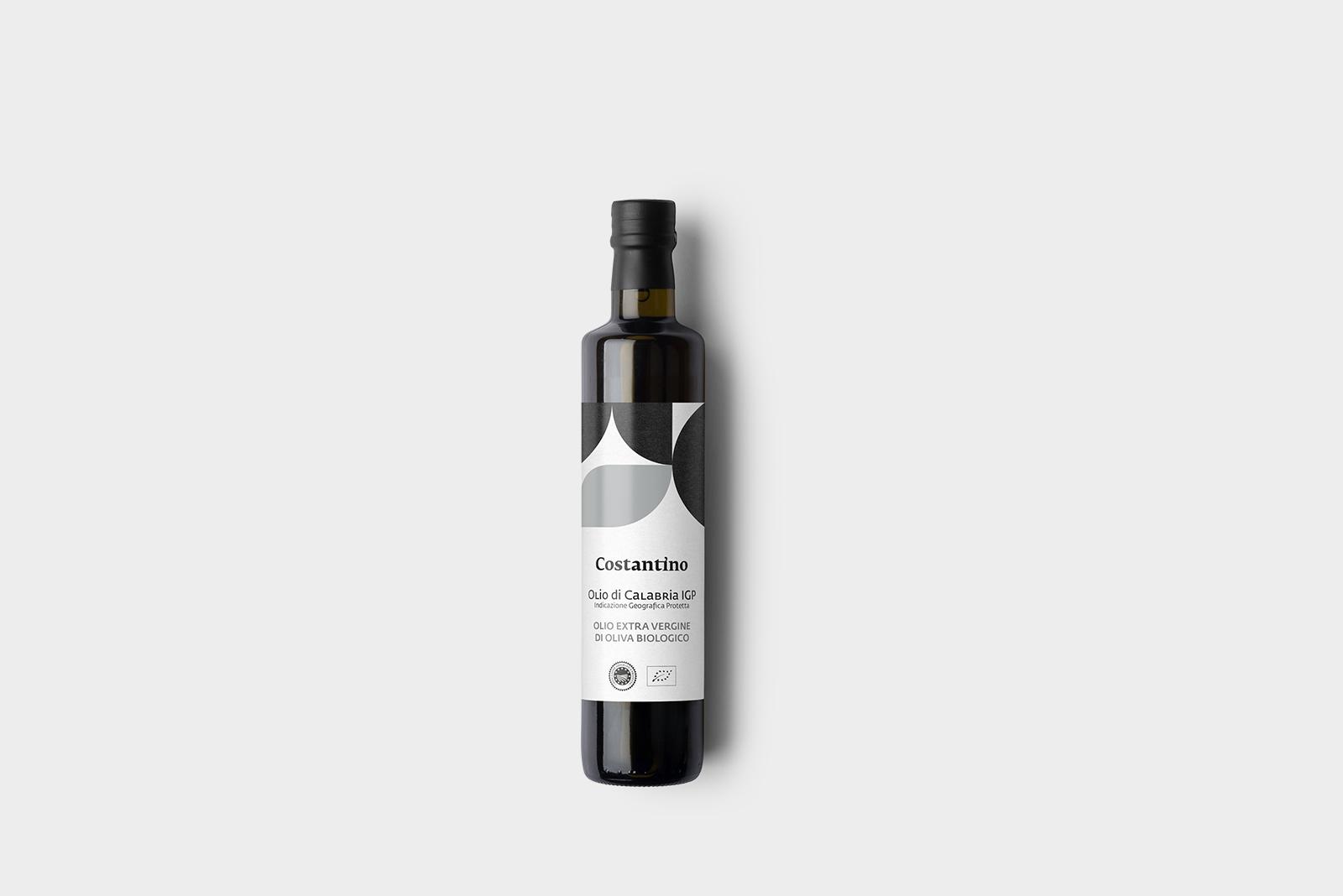 Costantino - Olio Extra Vergine d'Oliva Biologico IGP Calabria - bottiglia 25cl